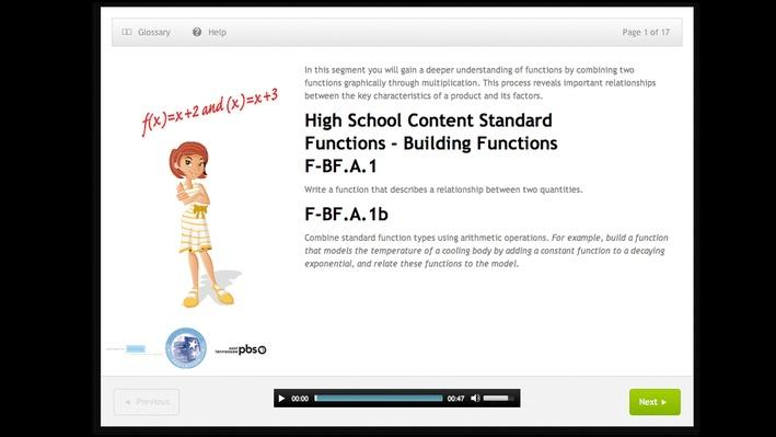 Functions - Building Functions - High School - F-BF.A.1b