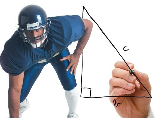 Football and the Pythagorean Theorem: There's Math in Sports?