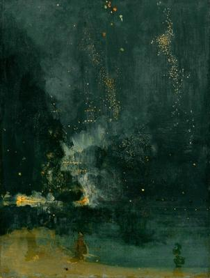 Nocturne in Black and Gold: the Falling Rocket, 1875 | James McNeill Whistler