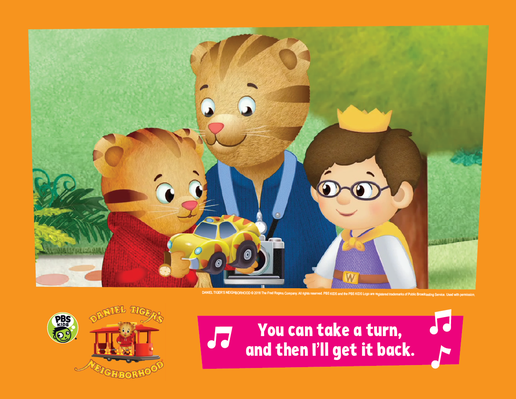 Family Activity: Sharing | Daniel Tiger's Neighborhood