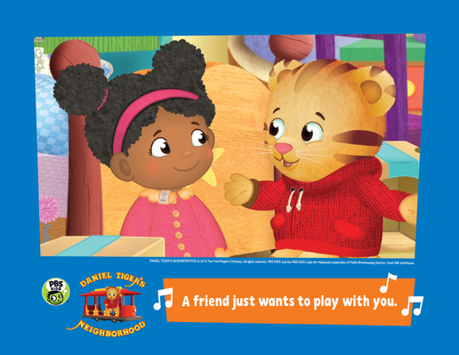 Family Activity: Make a Book About Friends | Daniel Tigers Neighborhood