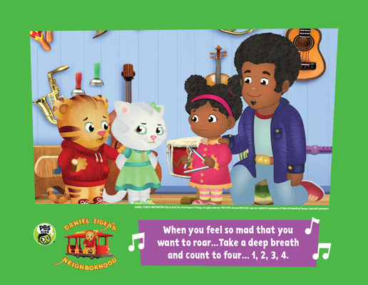 Family Activity: When You Feel So Mad | Daniel Tiger's Neighborhood