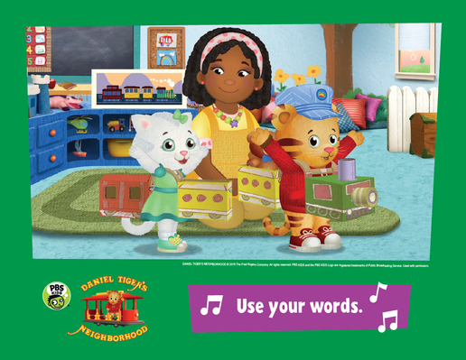 Family Activity: Use Your Words | Daniel Tiger's Neighborhood