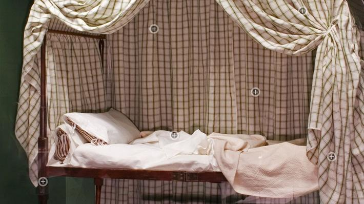 George Washington's Revolutionary War Bed