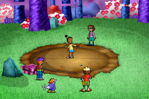Finding the Circle's Center | Cyberchase