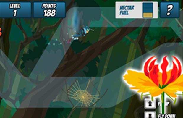 Flower Flier | Wild Kratts - game