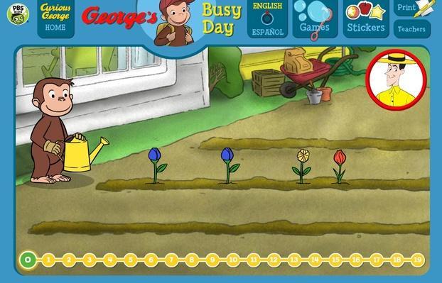Flower Garden - Curious George | PBS KIDS Lab