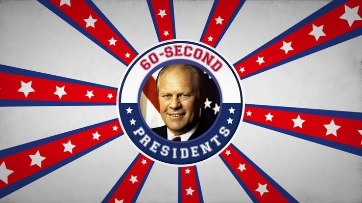 Gerald Ford | 60-Second Presidents