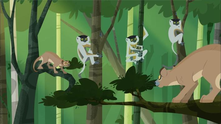 Fossa Hunting | Wild Kratts