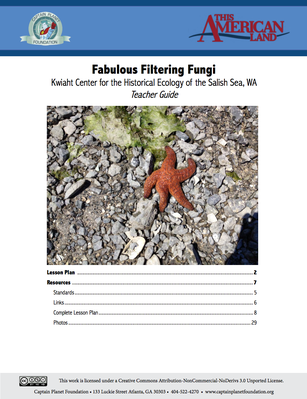 Teacher's Guide: Fabulous Filtering Fungi | This American Land