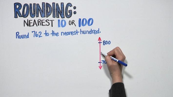 Rounding: Nearest 10 or 100