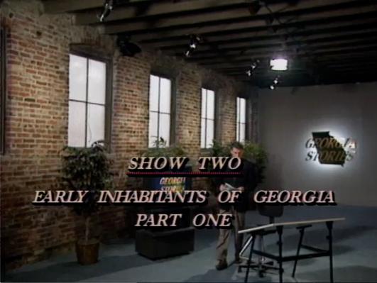 Georgia Stories 102: The Early Inhabitants of Georgia, Part 1