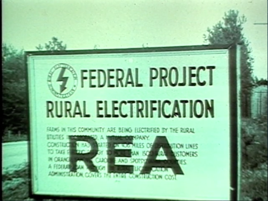 Georgia Stories | The Rural Electrification Administration