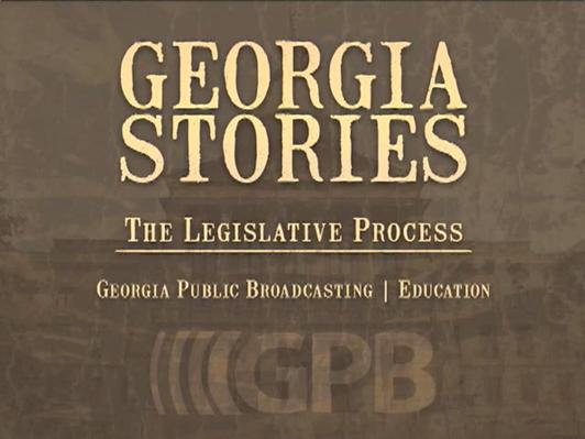 Georgia Stories: The Legislative Process
