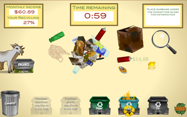 Recycling: Garbage Dreams | Interactive Recycling Game