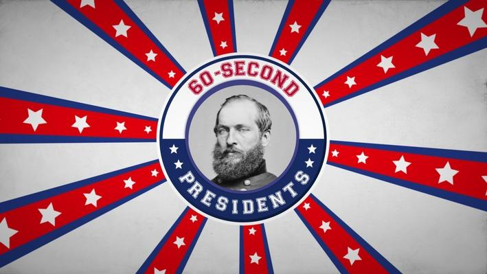 James A. Garfield | 60-Second Presidents