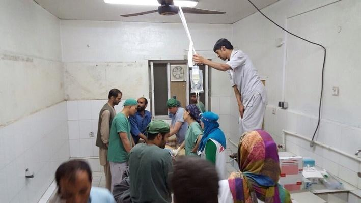Doctors Without Borders Outraged by U.S. Attack on Hospital - Video