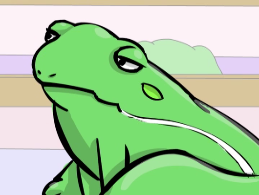 The Green Tree Frog: How A Bill Becomes A Law