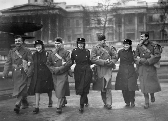 Out For A Walk | World War II