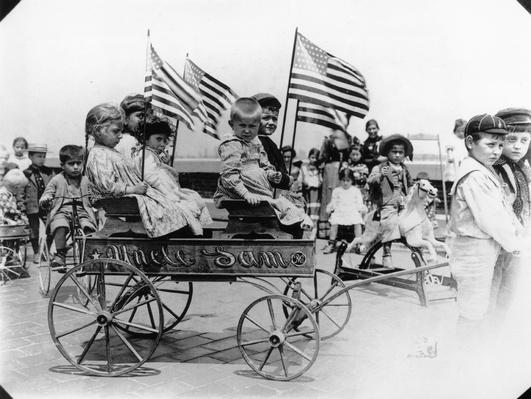 Uncle Sam Wagon | U.S. Immigration | 1840's to present | U.S. History