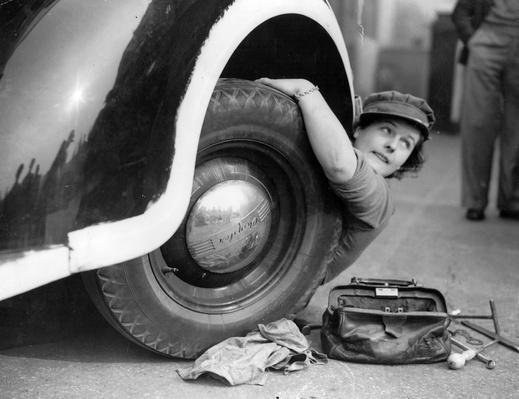 Changing A Wheel | World War II