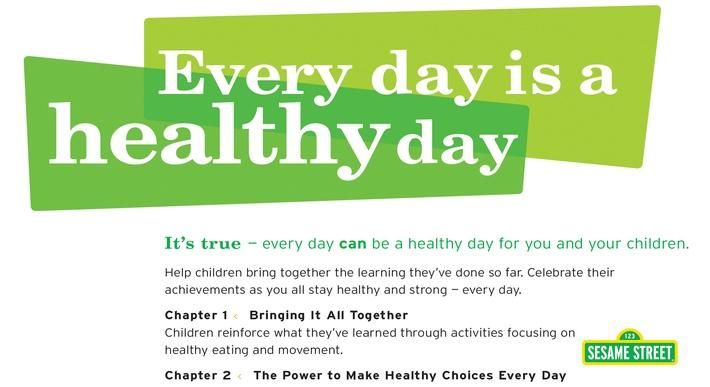 Every Day is a Healthy Day | Sesame Street