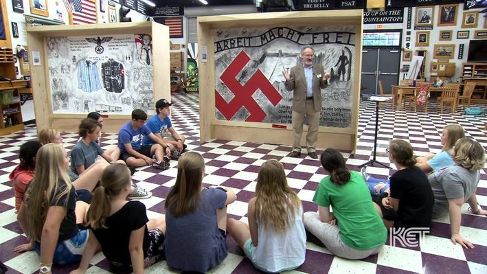 Arbeit Macht Frei   Murals of the Holocaust