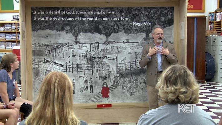 Interpreting the Mural   Murals of the Holocaust