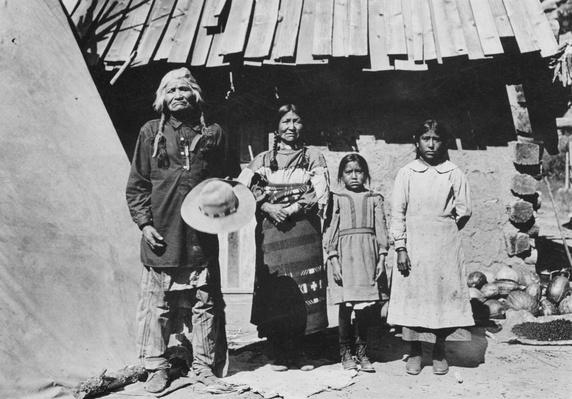 Apache Family | Native American Civilizations | U.S. History