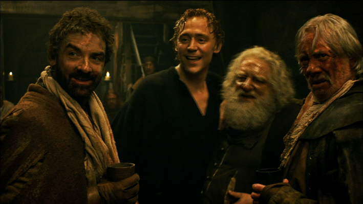 Hal and Falstaff in the Tavern
