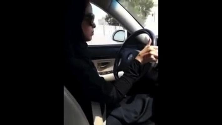 Saudi Women in Cars Protest Driving Ban Video