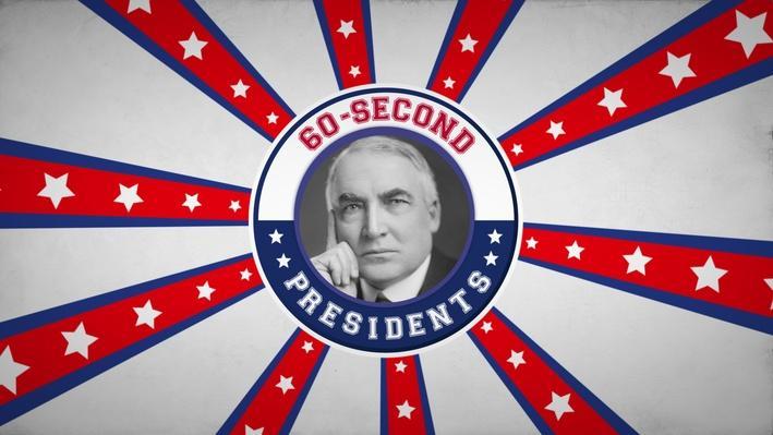 Warren G. Harding | 60-Second Presidents