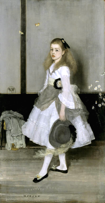 Harmony in Grey and Green: Miss Cicely Alexander, 1872 | James McNeill Whistler