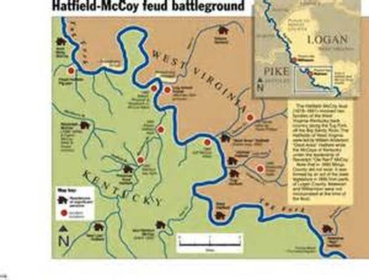 Hatfield and McCoy Feud