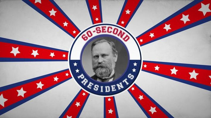 Rutherford B. Hayes | 60-Second Presidents