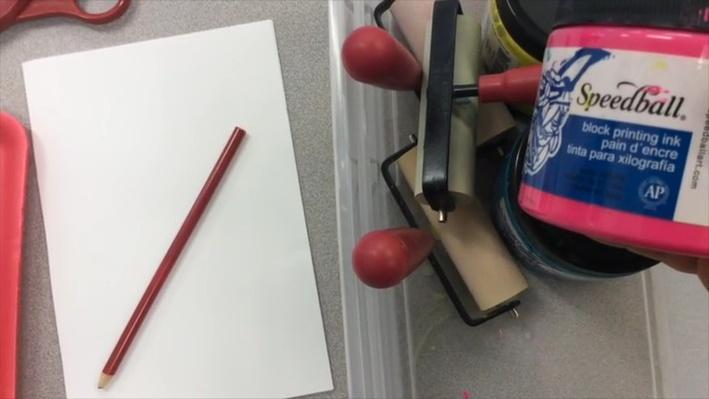Printmaking Like Jan Heath