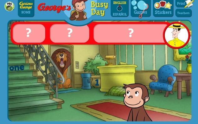 Hide and Seek - Curious George | PBS KIDS Lab