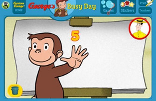 High Five - Curious George   PBS KIDS Lab