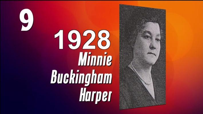 West Virginia History in 10 Seconds l Minnie B. Harper