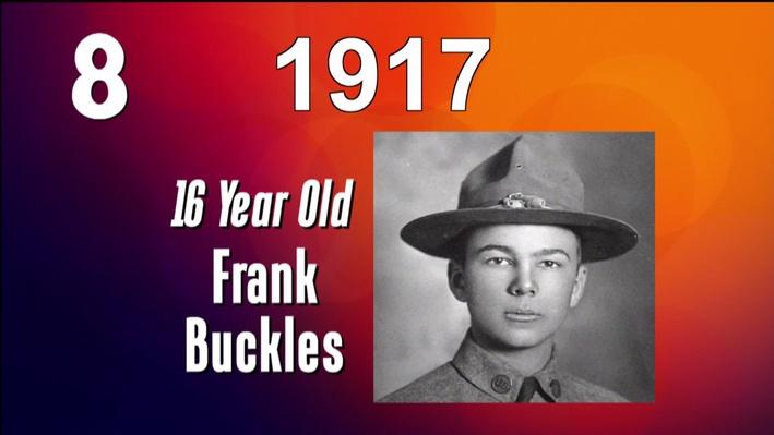 West Virginia History in 10 Seconds l Frank Buckles