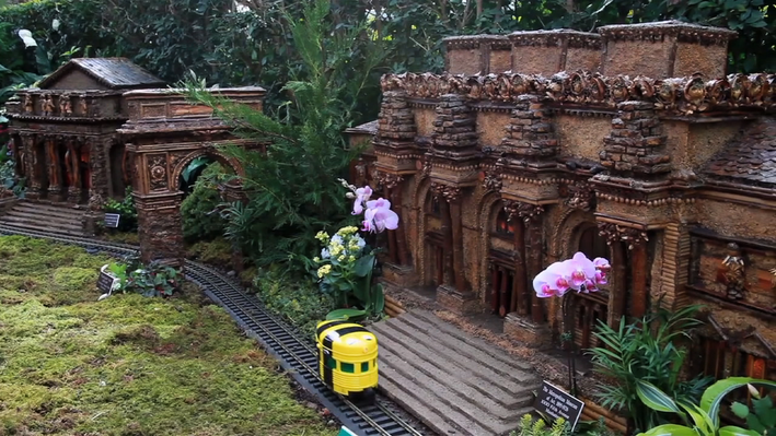 "Exploring Scale and Proportion at the Holiday Train Show | Treasures of New York: ""Holiday Train Show"""