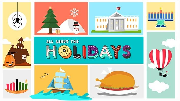 all about the holidays pbs learningmedia