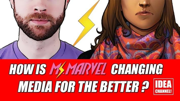How is Ms. Marvel Changing Media for the Better? | PBS Idea Channel