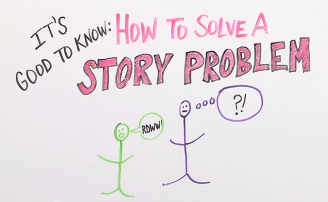 How to Solve a Story Problem