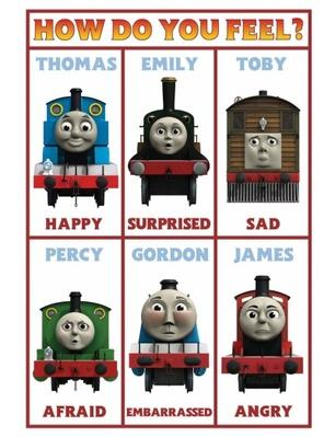 How Do You Feel Poster | Thomas & Friends
