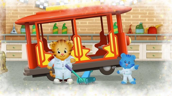 I Can Fix the Real Trolley | Daniel Tiger's Neighborhood