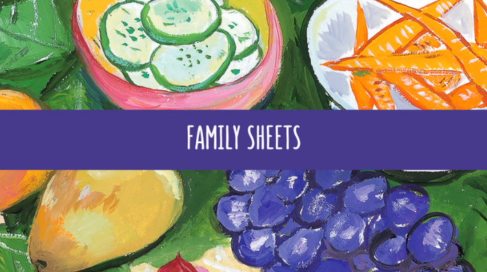 Curriculum Family Sheets | In Defense of Food