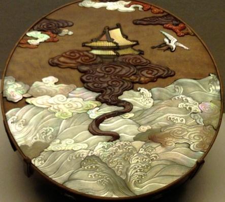 The Forbidden City Sandalwood Box Gift to Emperor
