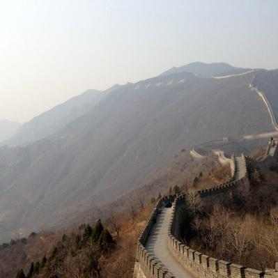 The Mutianyu Great Wall View from the Yanshan Mountains