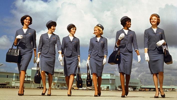In-flight Service; 1920-1975